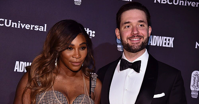 Serena Williams' Husband Colors with Daughter Olympia in Her Cute Twists in New Photo