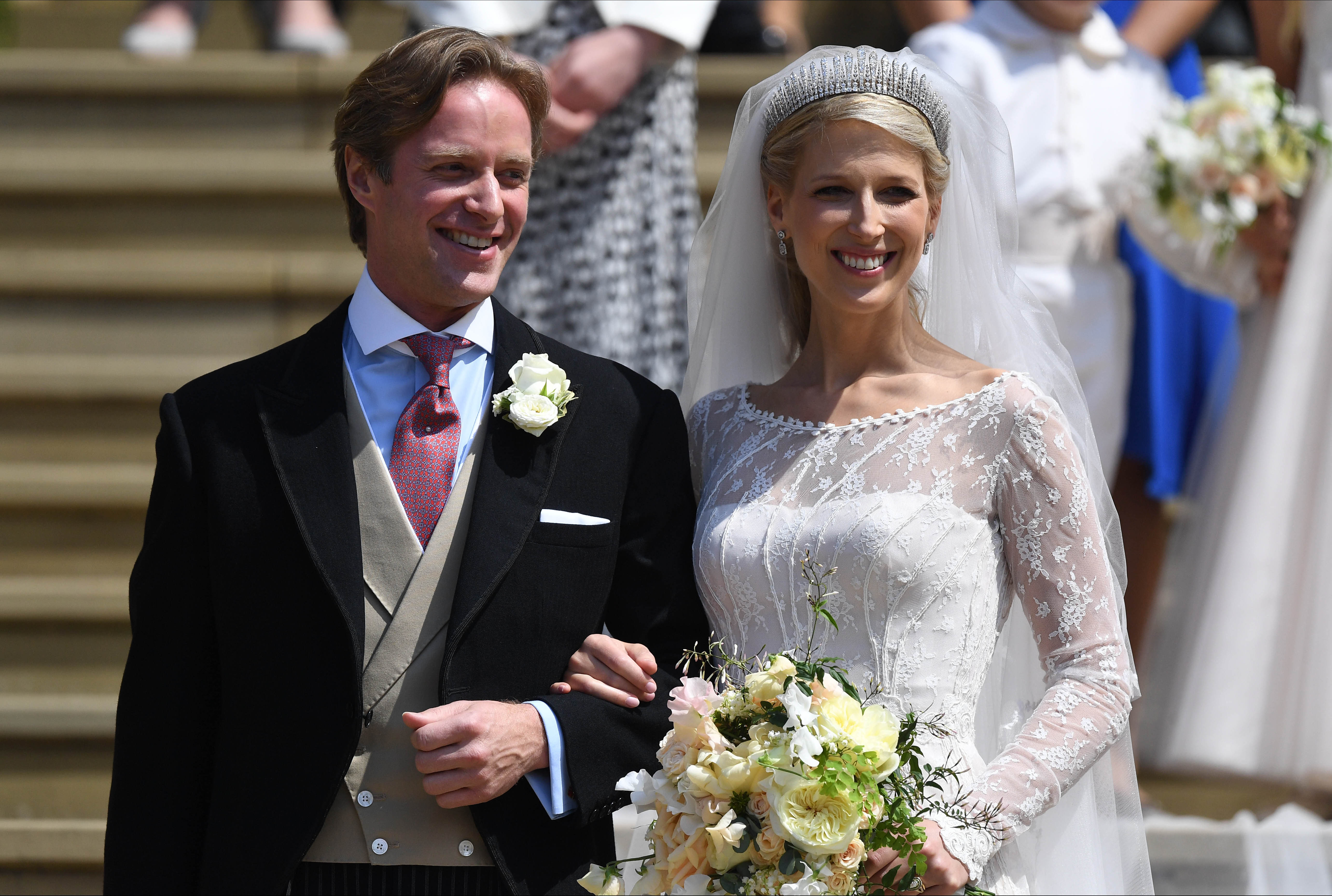 Thomas Kingston and Lady Gabriella Windsor | Photo: Getty Images