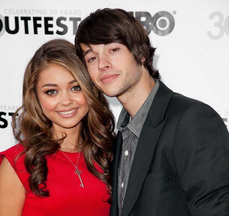 Sarah Hyland and Matt Prokop on July 22, 2012 in Hollywood, California | Photo: Getty Images