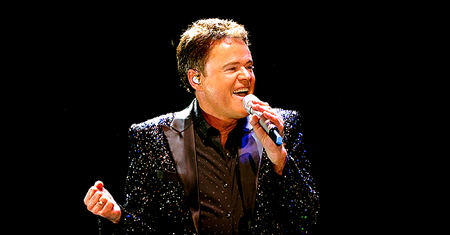Donny Osmond Says He Has No Bag & Needs Shower as He Shares Pic Lying on a Bench & Fans React