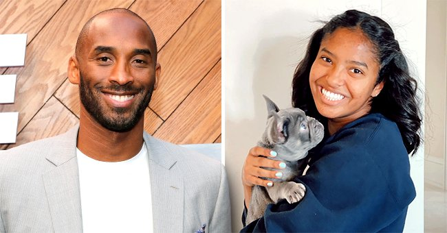 Kobe Bryant's Eldest Daughter Natalia Looks like the Late Star as She Shows off Neat Braids While in a Car