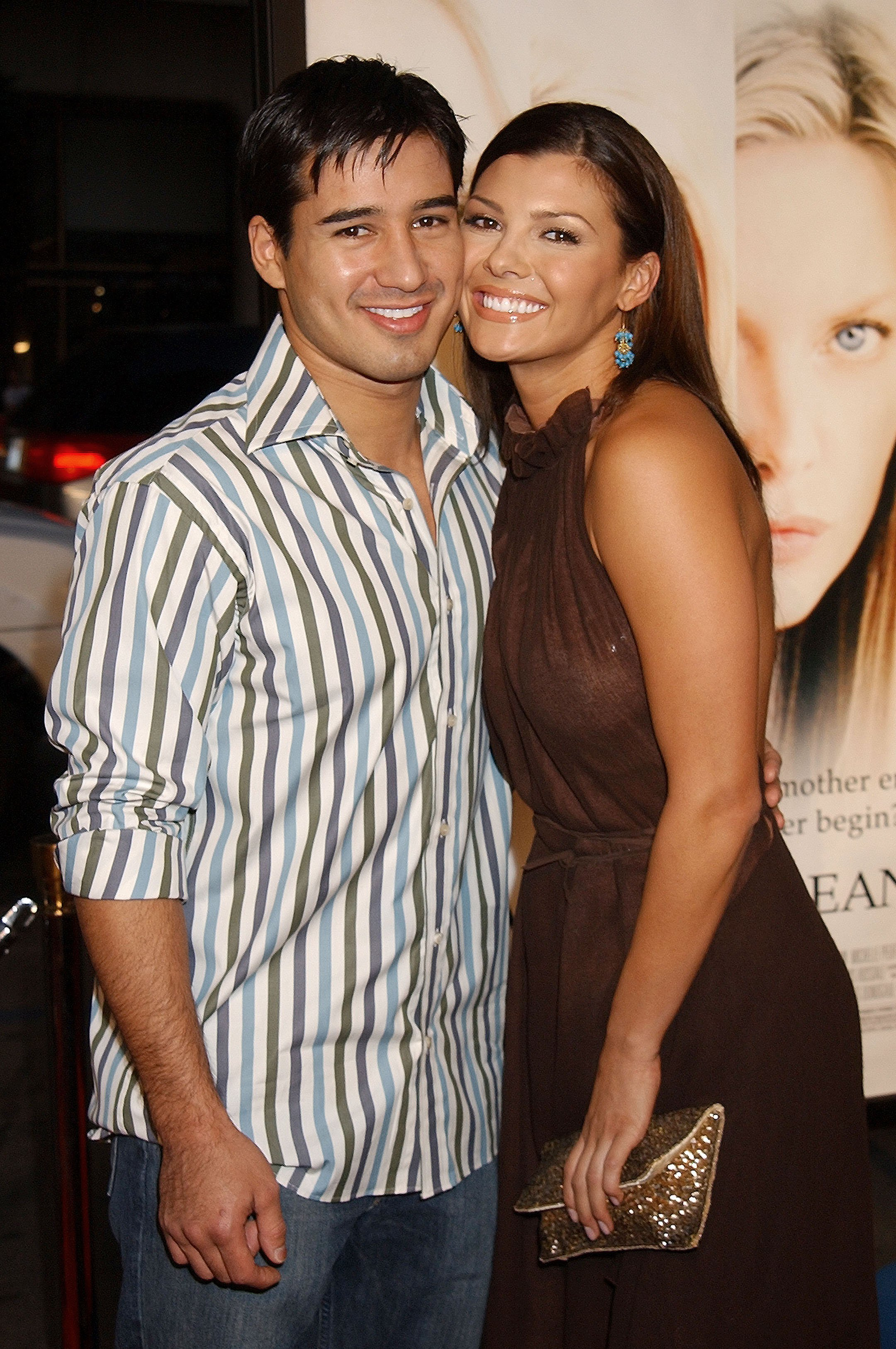 """Mario Lopez & Ali Landry during """"White Oleander"""" Premiere - Los Angeles at Grauman's Chinese Theatre in Hollywood, California   Photo: Getty Images"""