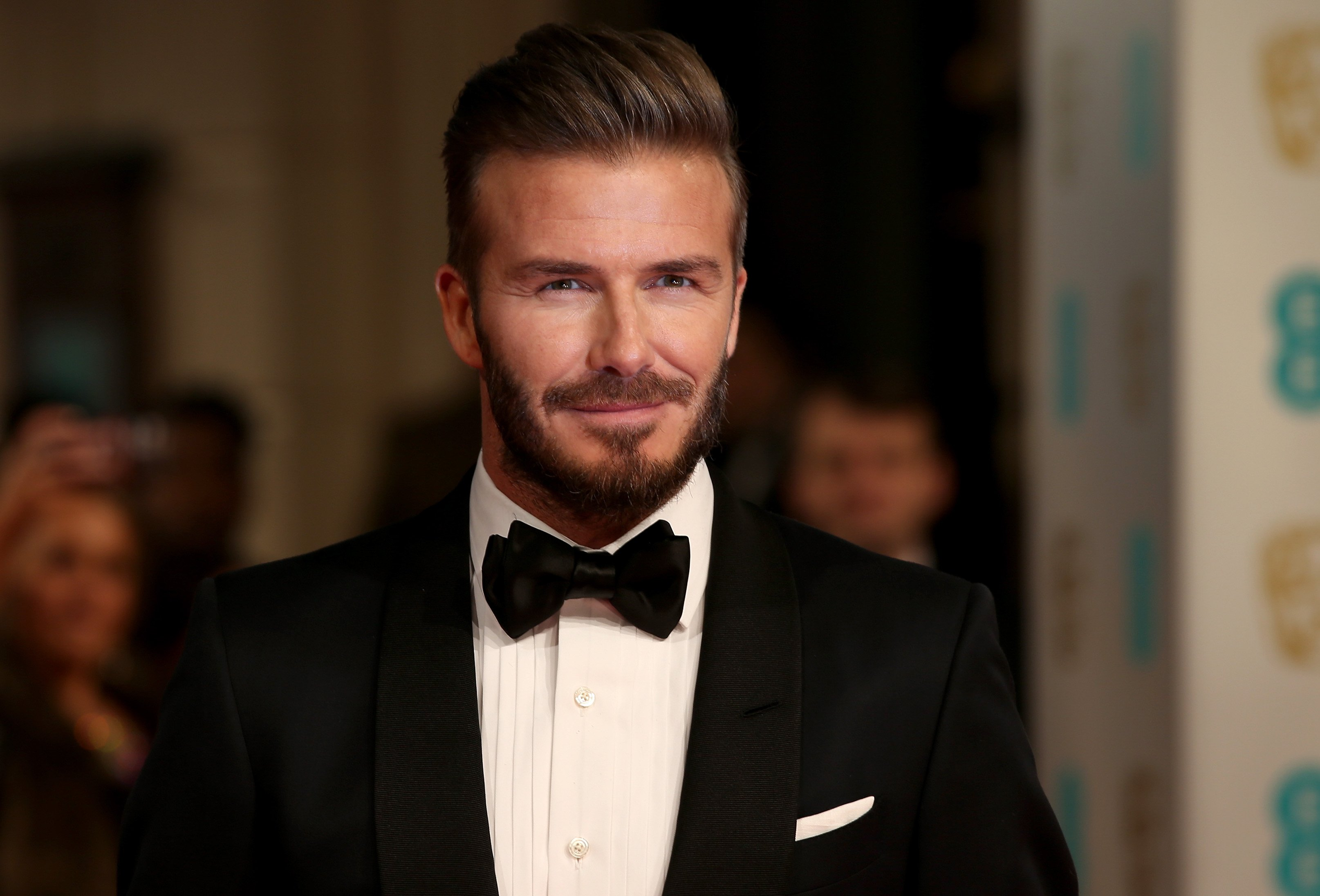David Beckham attends the EE British Academy Film Awards at The Royal Opera House on February 8, 2015 in London, England | Photo: Getty Images