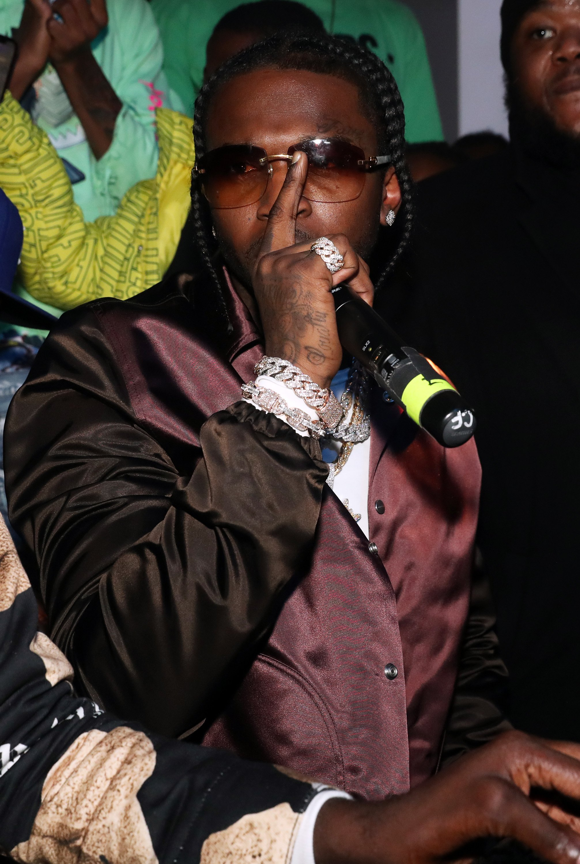 Pop Smoke performs at the Pop Smoke Listening Party at Villain on February 06, 2020 | Photo : Getty Images