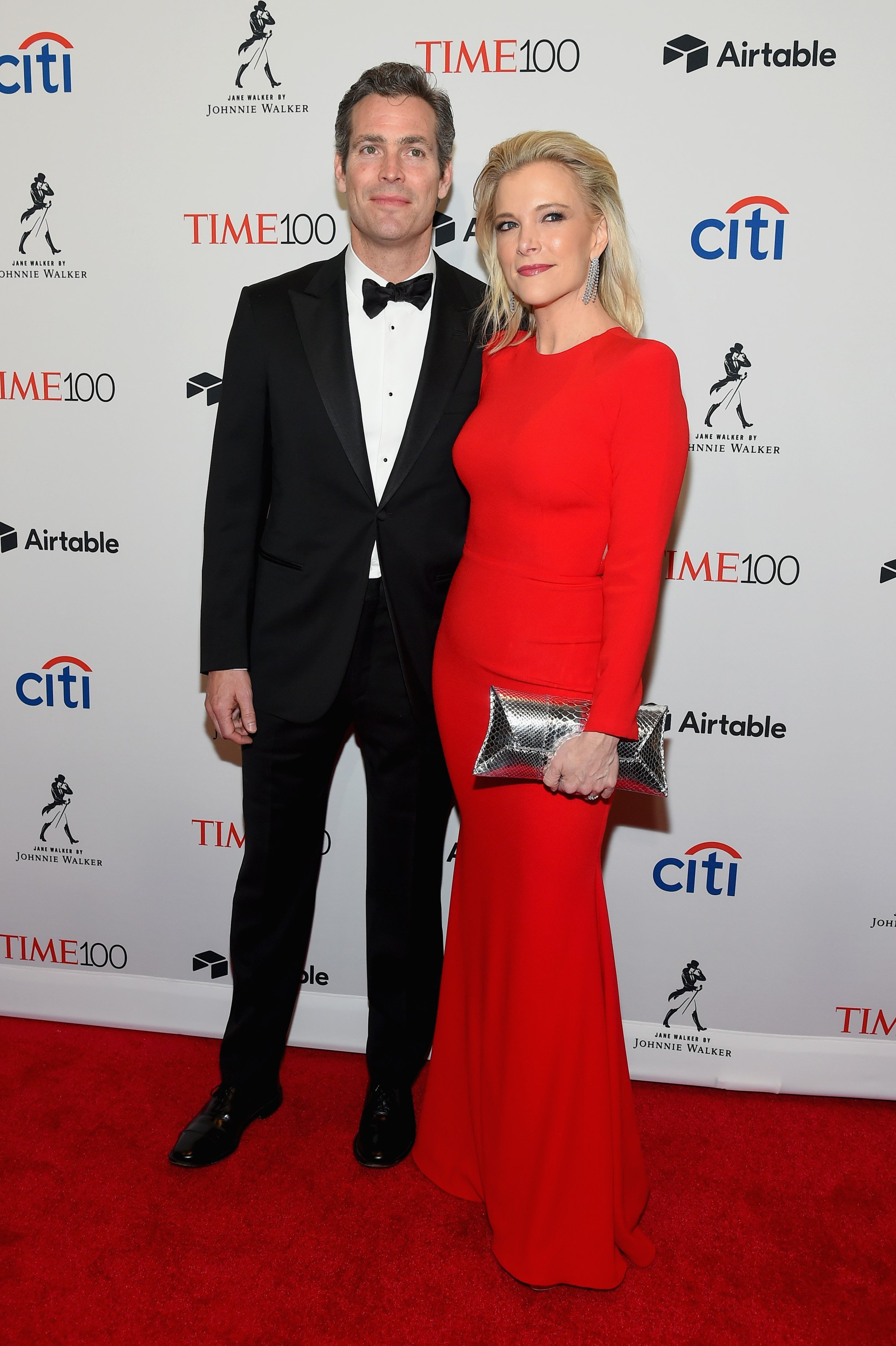 Douglas Brunt and Megyn Kelly attend the 2018 Time 100 Gala at Jazz at Lincoln Center on April 24, 2018, in New York City. | Source: Getty Images.
