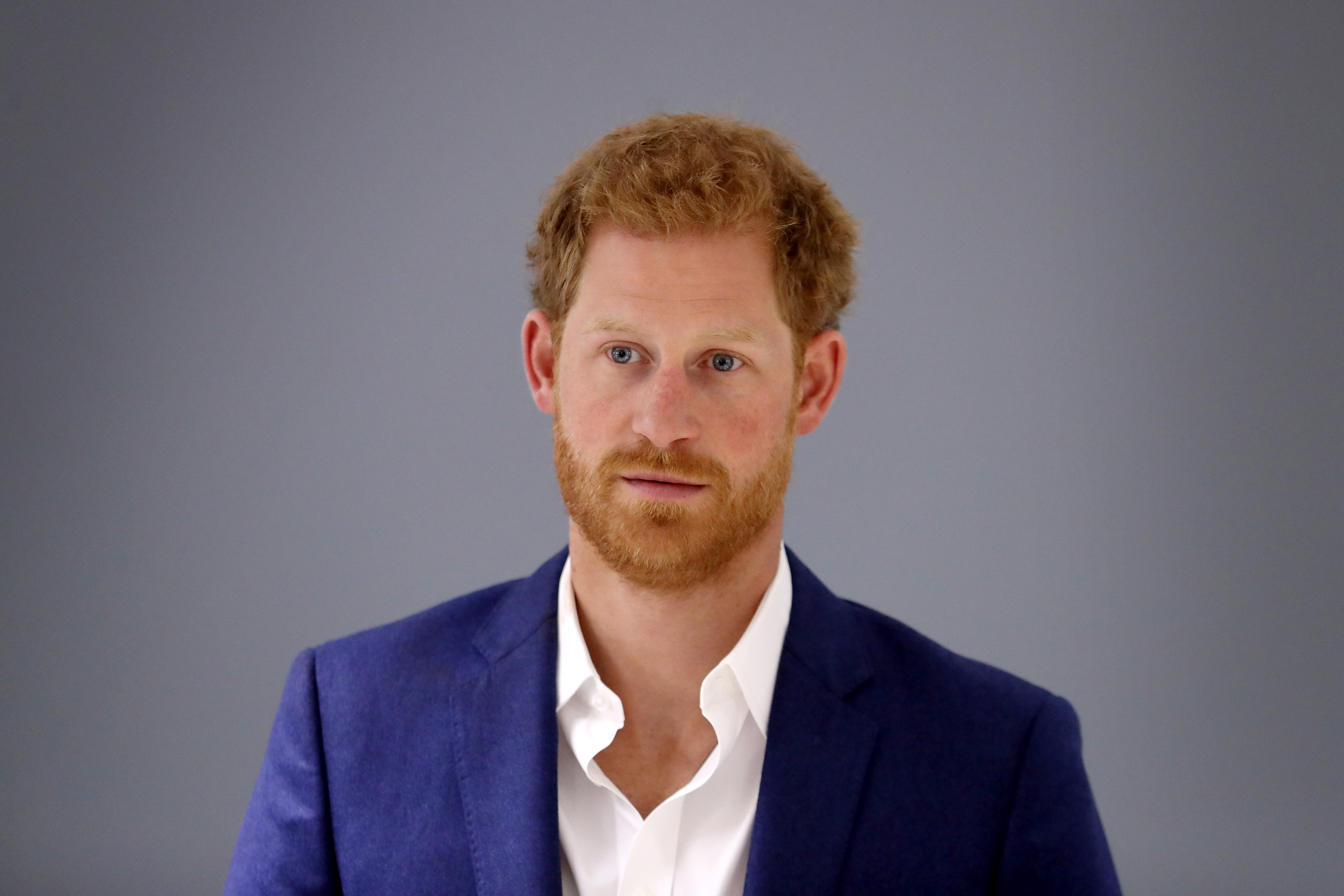 Prince Harry at the NHS Manchester Resilience Hub on September 4, 2017 in Manchester, England | Photo: Getty Images