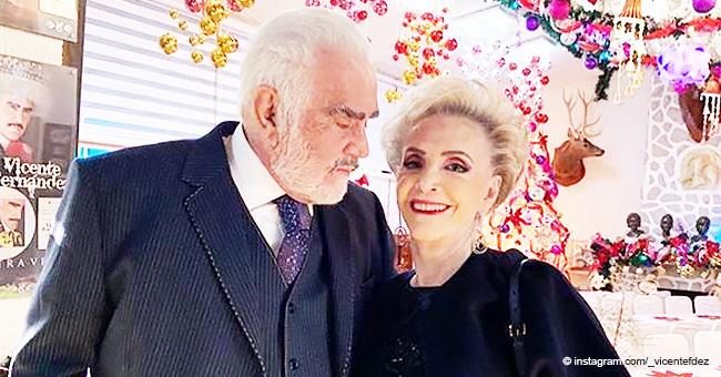 Vicente Fernández y Doña Cuquita siguen demostrando su amor tras 55 años de matrimonio
