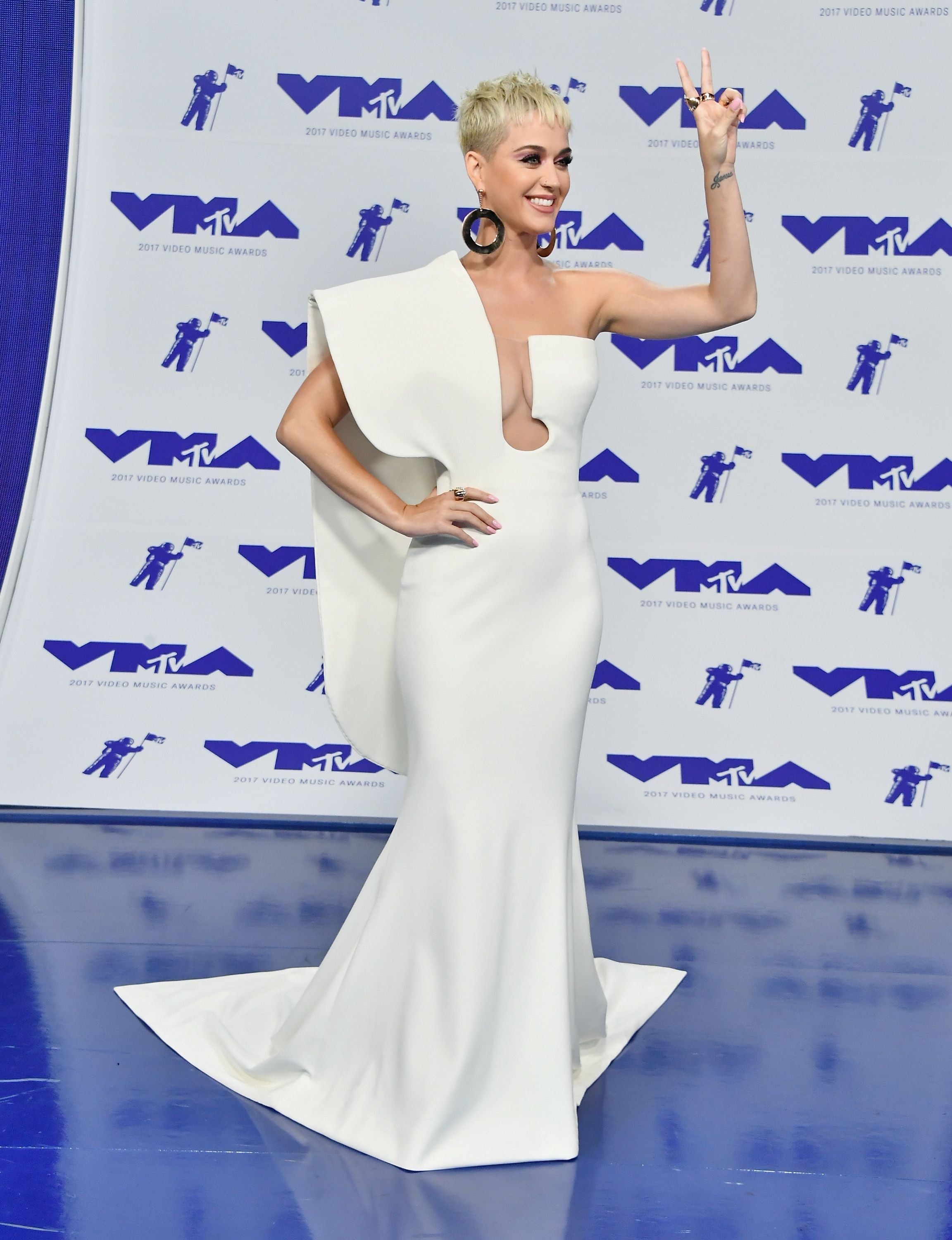 Katy Perry at the 2017 VMA awards  Photo: Getty Images