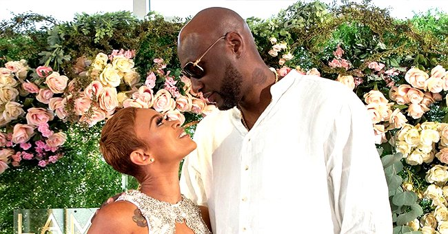 Check Out Lamar Odom's Sweet Engagement Party with His Fiancée Sabrina Parr