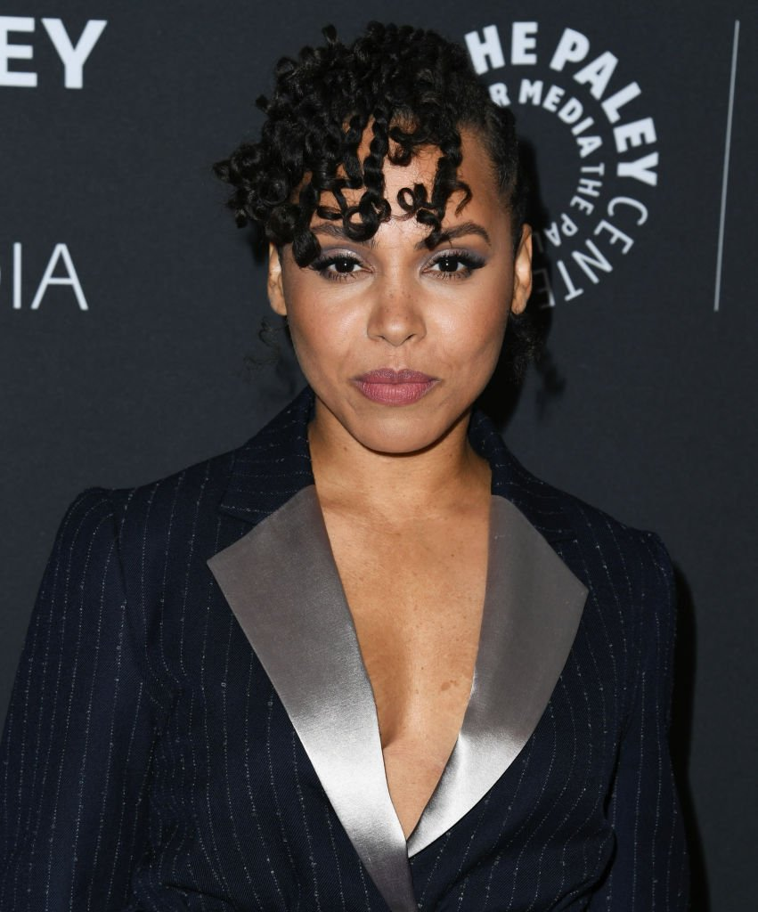 """Amirah Vann attends the celebration of the final season of """"How to Get Away with Murder"""" at The Paley Center for Media on November 19, 2019 in Beverly Hills, California. 