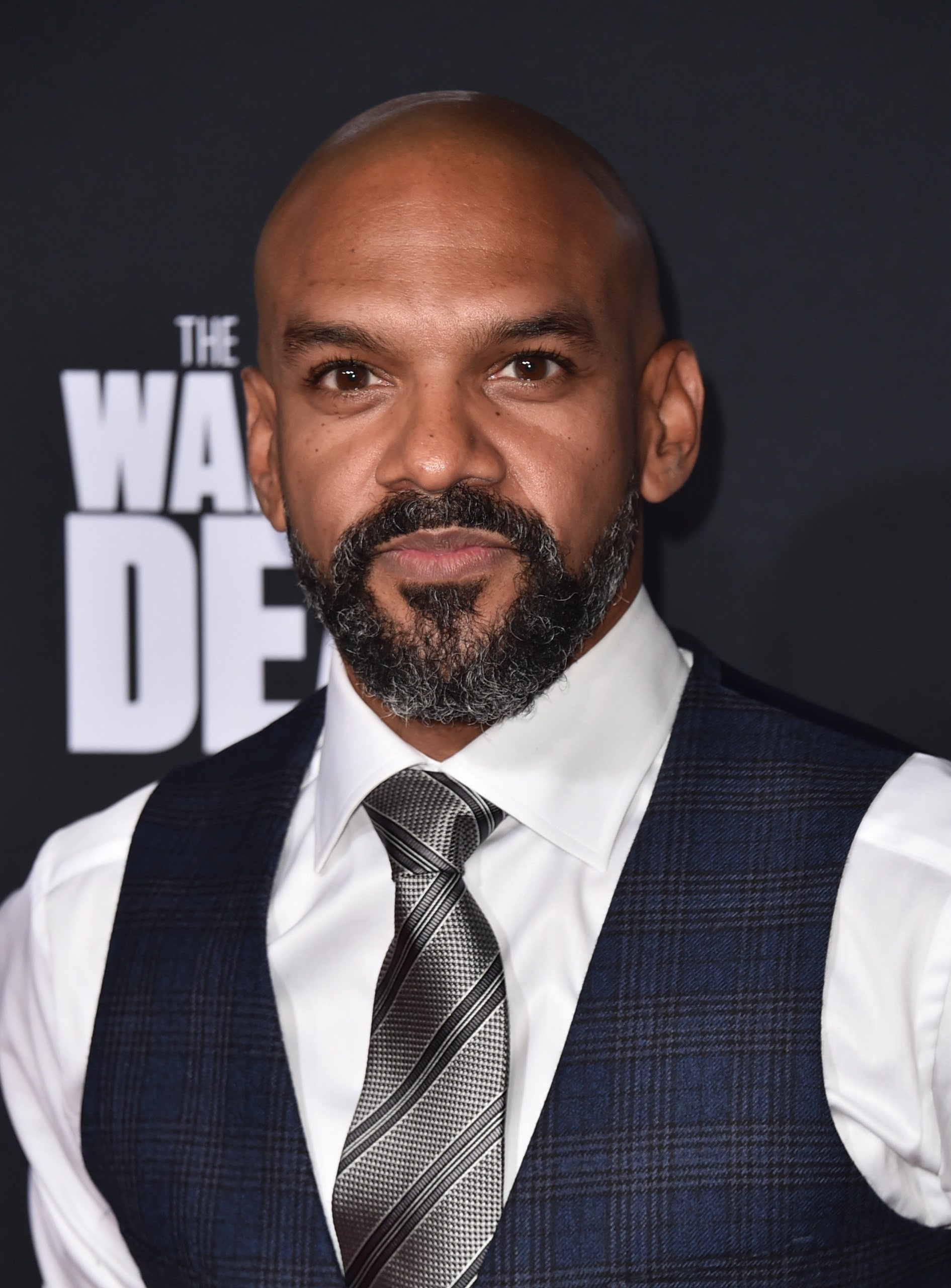 """Khary Payton attends the Season 10 Special Screening of AMC's """"The Walking Dead"""" at Chinese 6 Theater on September 23, 2019   Photo: Getty Images"""