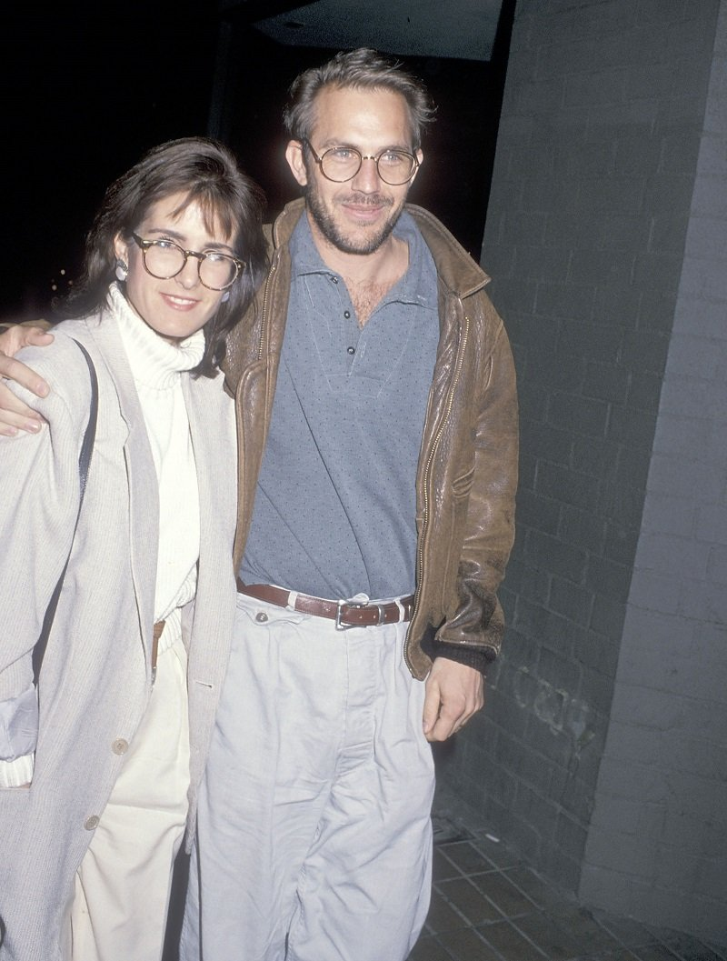 Kevin Costner and wife Cindy Costner on January 13, 1989 in Westwood, California | Photo: Getty Images