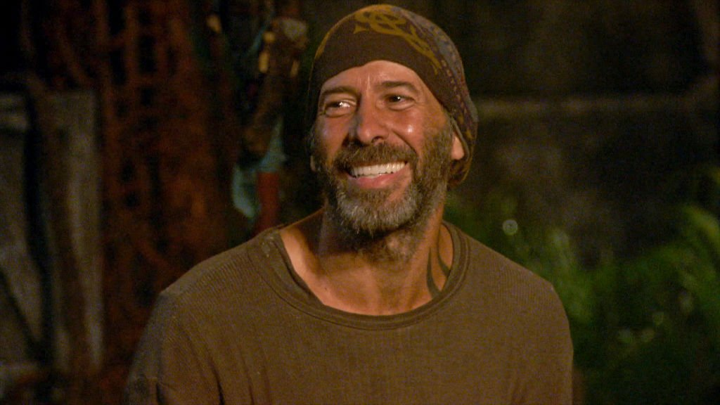 Tony Vlachos at Tribal Council on the three-hour season finale episode of SURVIVOR: WINNERS AT WAR, on the CBS Television Network   Photo: Getty Images