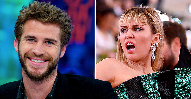 Liam Hemsworth Shows off Impressive Athletic Skills with Human Flag Pose during a Night Shoot