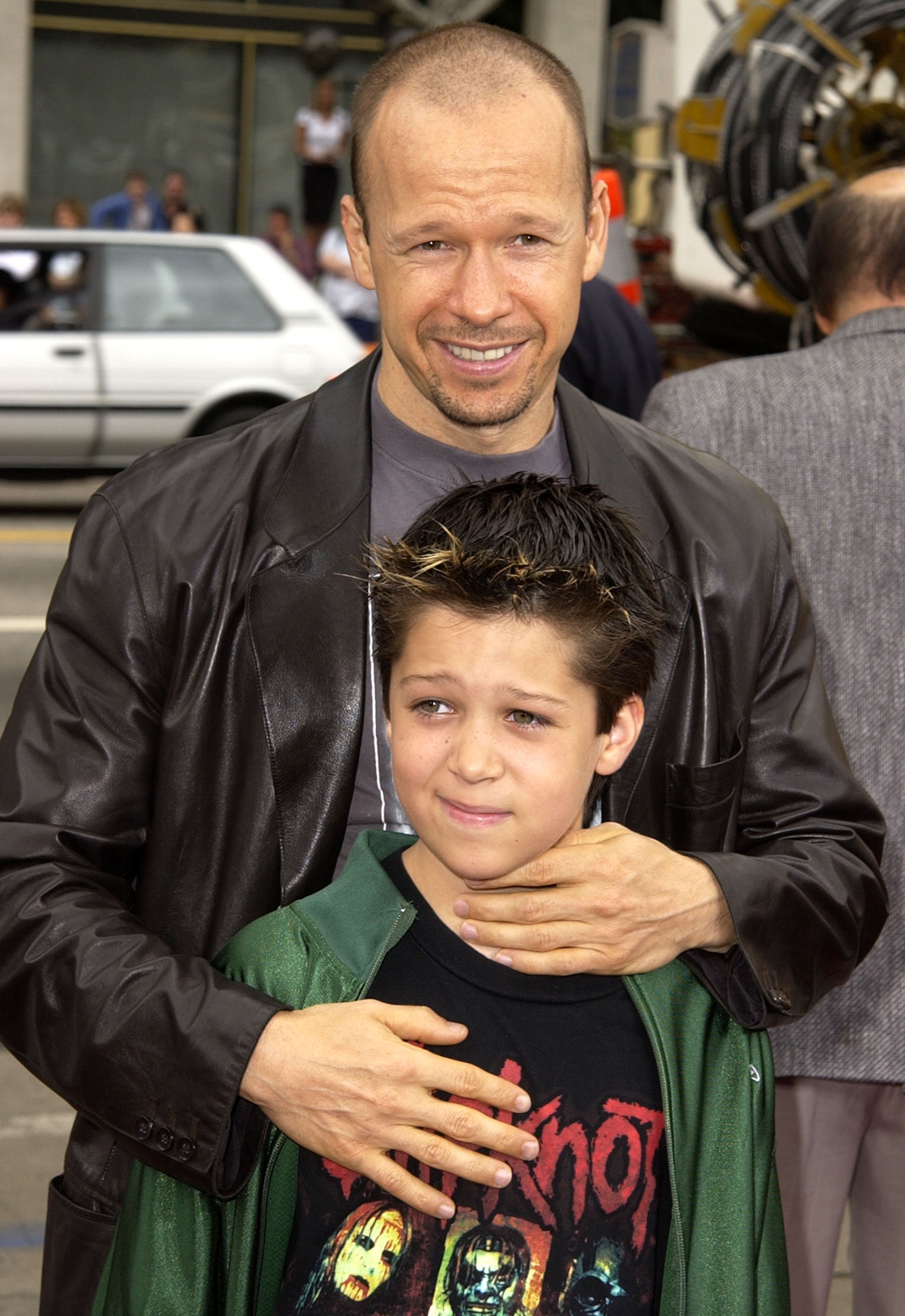 Donnie Wahlberg & son Xavier at an event | Photo: Getty Images