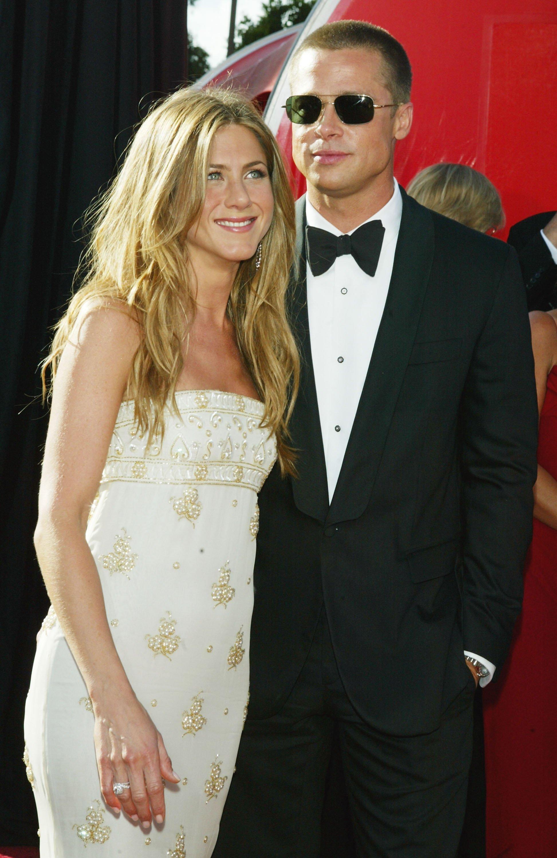 Jennifer Aniston and Brad Pitt. I Image: Getty Images.