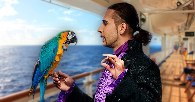 Daily Joke: A Magician and a Parrot Were Together on a Cruise Ship