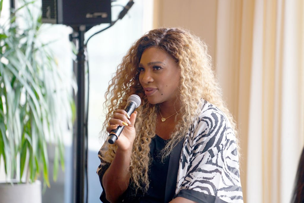 Grand Slam Champion, Olympian & Designer Serena Williams speaks during 'Real Talk with Two Female Champions Inspiring the Next Generation' as a part of NYFW: The Talks. Presented by Wheaties at Spring Studios during New York Fashion Week: The Shows | Photo: Getty Images