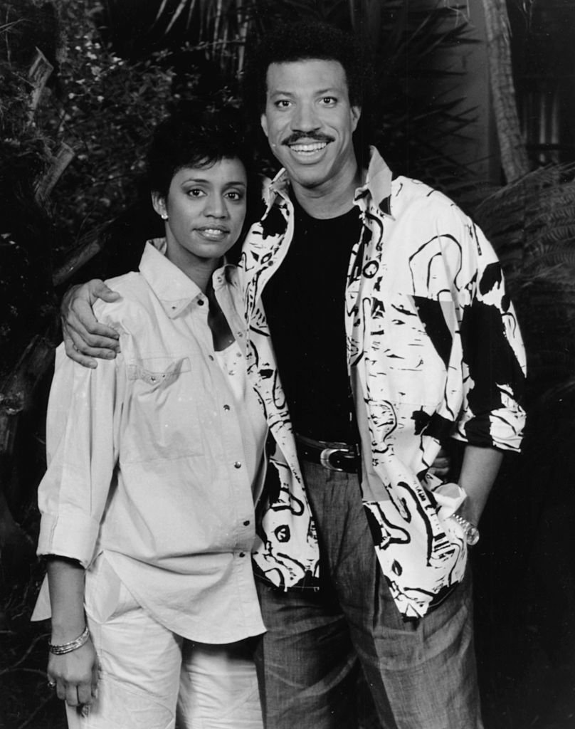 Lionel Richie and his wife Brenda on September 15, 1986. | Photo: Getty Images