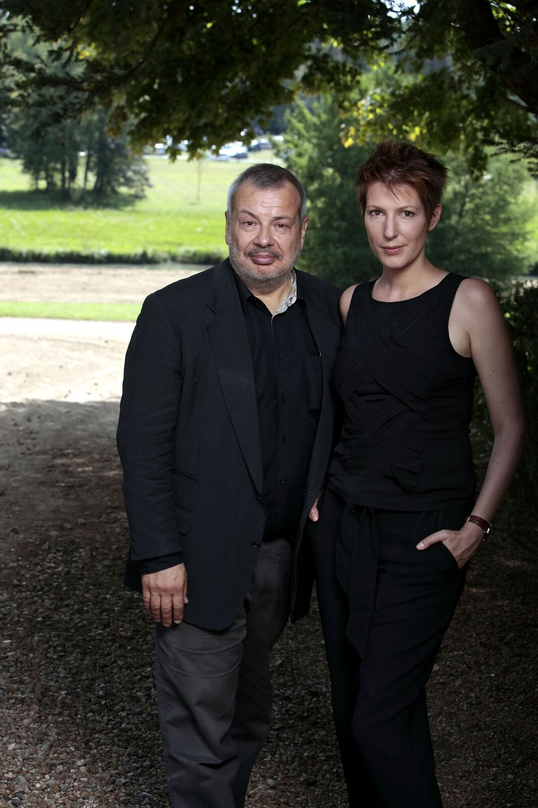 Journaliste et écrivain Natacha Polony et son mari Perico Legasse photographié à PARIS. | Photo : Getty Images