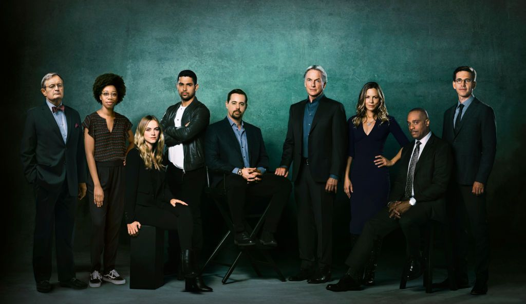 A portrait of the season 16 cast of the CBS series NCIS on October 25, 2017 | Photo: Getty Images