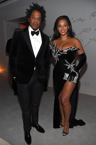 ay-Z and Beyoncé Knowles-Carter attend Sean Combs 50th Birthday Bash presented by Ciroc Vodka on December 14, 2019 in Los Angeles | Photo: Getty Images
