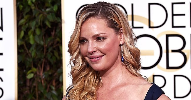 Katherine Heigl on the red carpet at The Golden Globes, 2015, Beverly Hills, California.   Photo: Getty Images