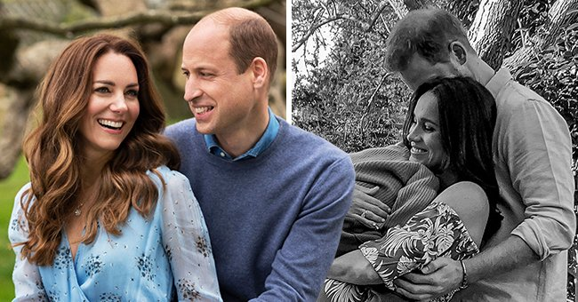 Daily Mail: Comparing Prince William & Kate Middleton's Anniversary Snaps to Prince Harry and Meghan Markle's