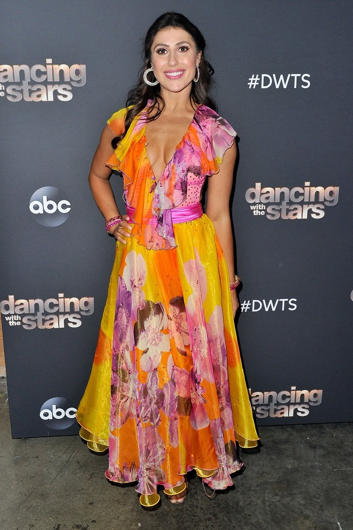 """Emma Slater posing during """"Dancing With The Stars"""" Season 28 in Los Angeles, California in October 2019. 