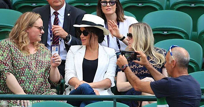 Wimbledon Selfie-Snapper Reveals He 'Had no Idea Meghan Markle was There'