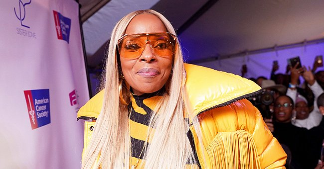Mary J Blige Flaunts Her Snatched Figure in Stunning Snap in a Green Fluffy Green Coat & Tight Jeans