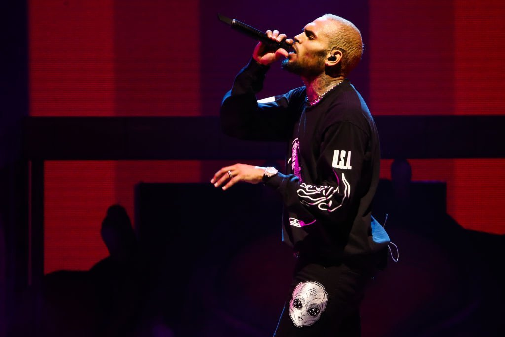 Chris Brown performs at Staples Center in Los Angeles, California | Photo: Getty Images