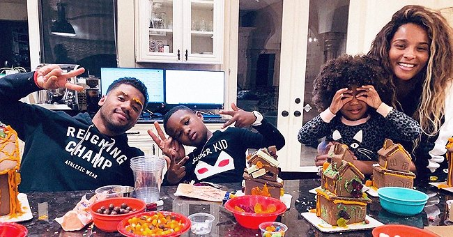Here's How Ciara & Russell Wilson Enjoyed Quarantine with Their Kids during Seahawks' Bye Week