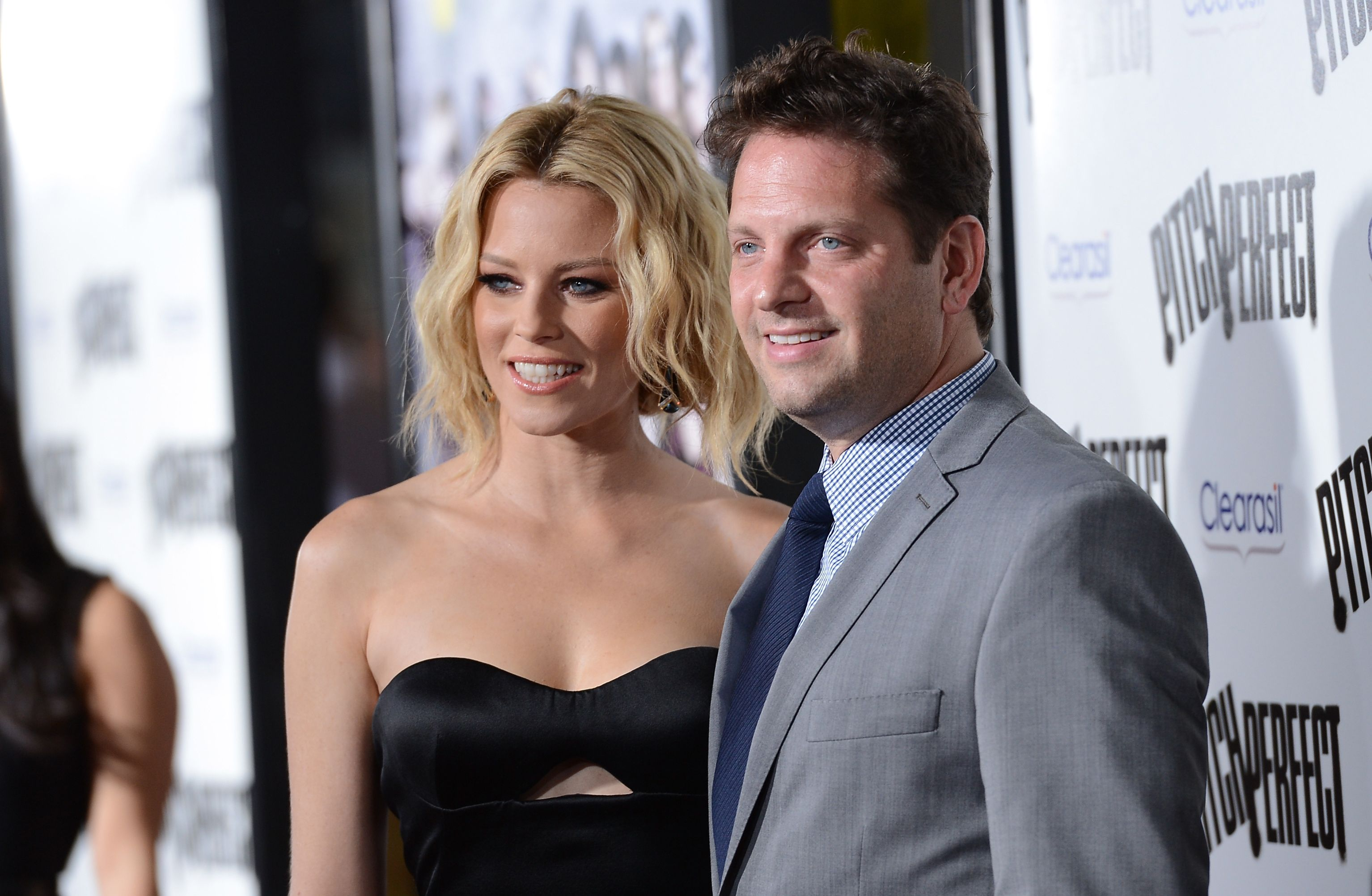 """Elizabeth Banks and Max Handelman at the premiere of """"Pitch Perfect"""" in 2012 in Hollywood, California 