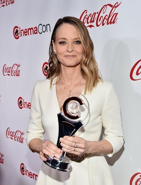 Jodie Foster, recipient of the Lifetime Achievement Award on April 26, 2018, in Las Vegas, Nevada. | Source: Getty Images