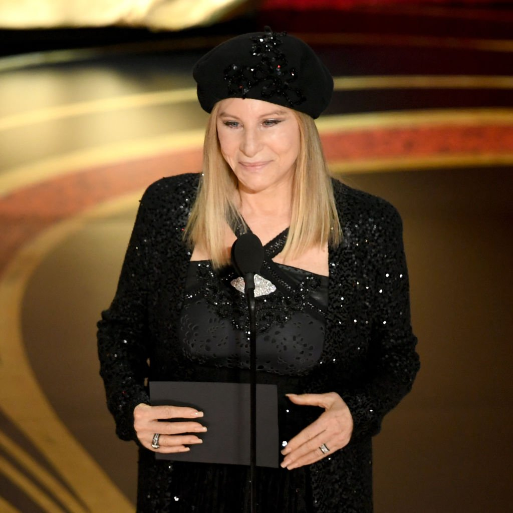 Retransmission with alternate crop.) Barbra Streisand speaks onstage during the 91st Annual Academy Awards at Dolby Theatre | Photo: Getty Images
