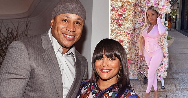 LL Cool J's Daughter Nina-Symone Flaunts Her Physique in a Pink Corset & Matching Tight Catsuit