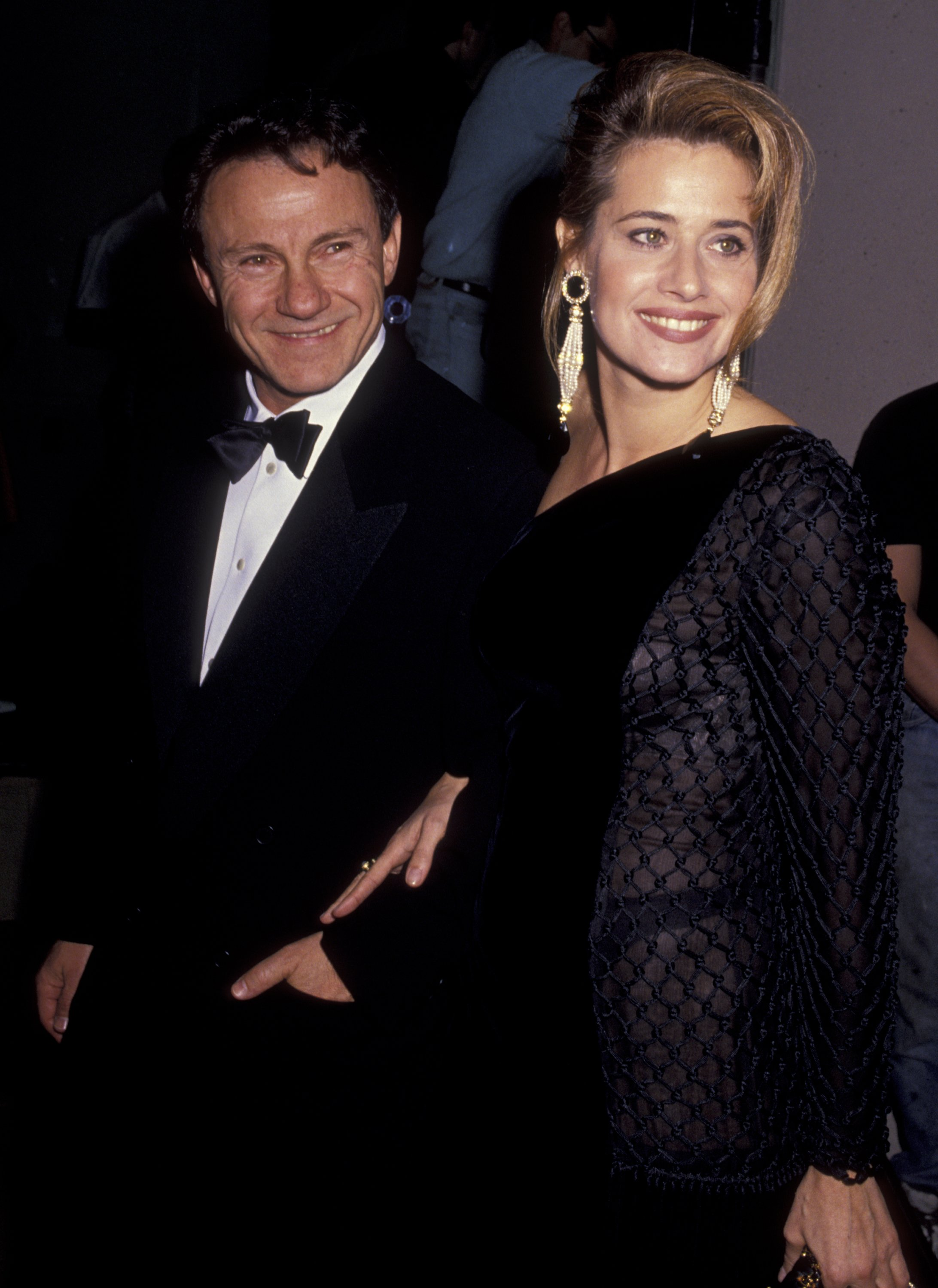 Harvey Keitel and Lorraine Bracco attend 48th Annual Golden Globe Awards on January 19, 1991 in Beverly Hills, California | Photo: Getty Images