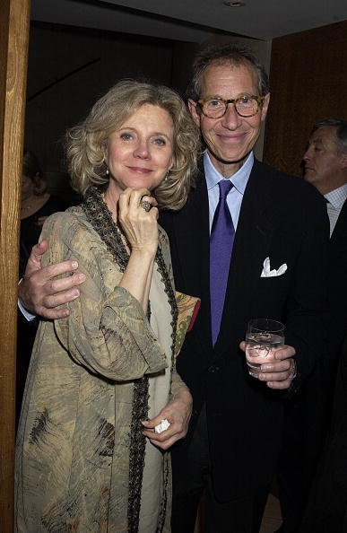 Blythe Danner and Bruce Paltrow At The Donmar With A Party At No 1 The Aldwych, London | Photo: Getty Images