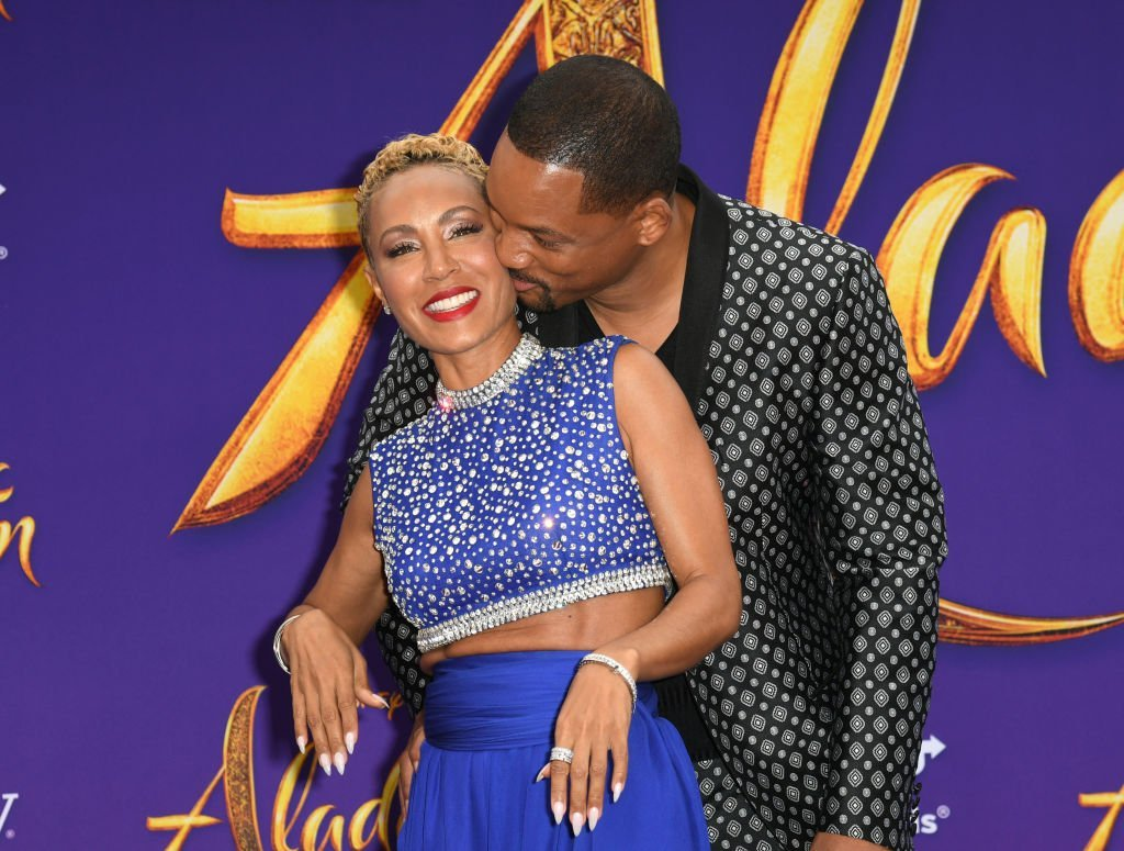 "ada Pinkett Smith and Will Smith attends the premiere of Disney's ""Aladdin"" at El Capitan Theatre 