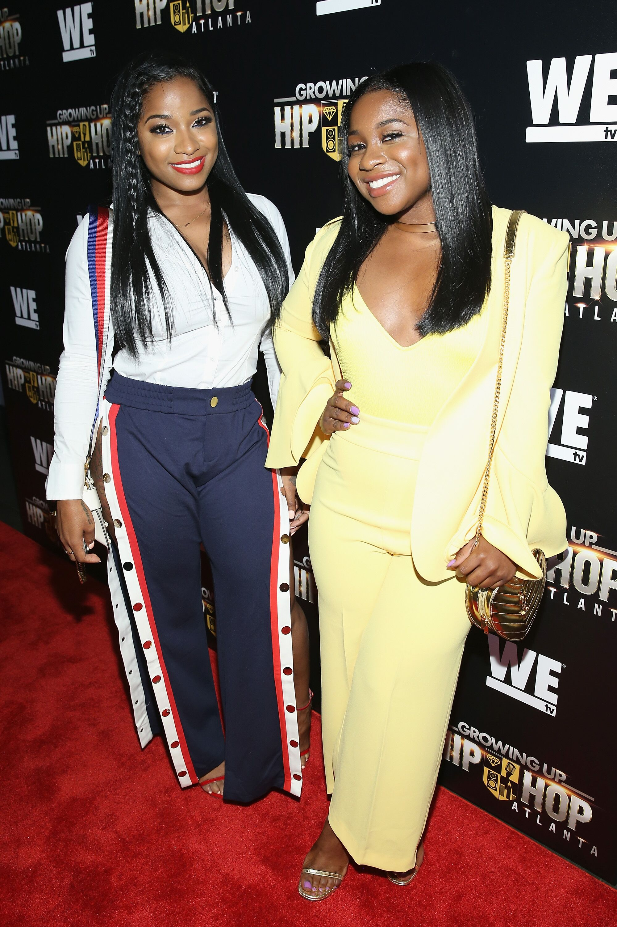 "Toya Wright attends a ""Growing Up Hip Hop Atlanta"" event 