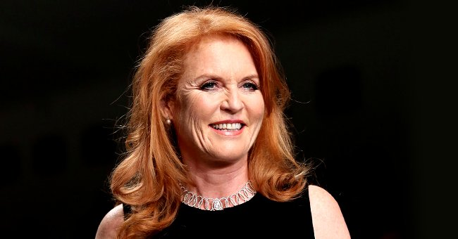 Sarah Ferguson Stole the Show in This Stunning Red Dress for the Virtual Heart Hero Awards