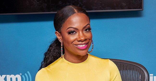 See Kandi Burruss' Daughter Blaze with Her Little Growing Teeth in a New Picture with Todd Tucker