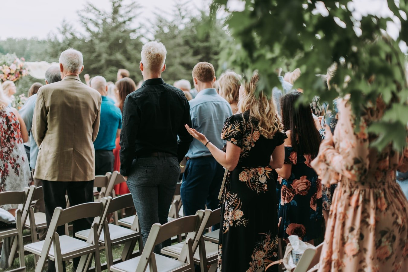 The wedding guests | Source: Unsplash