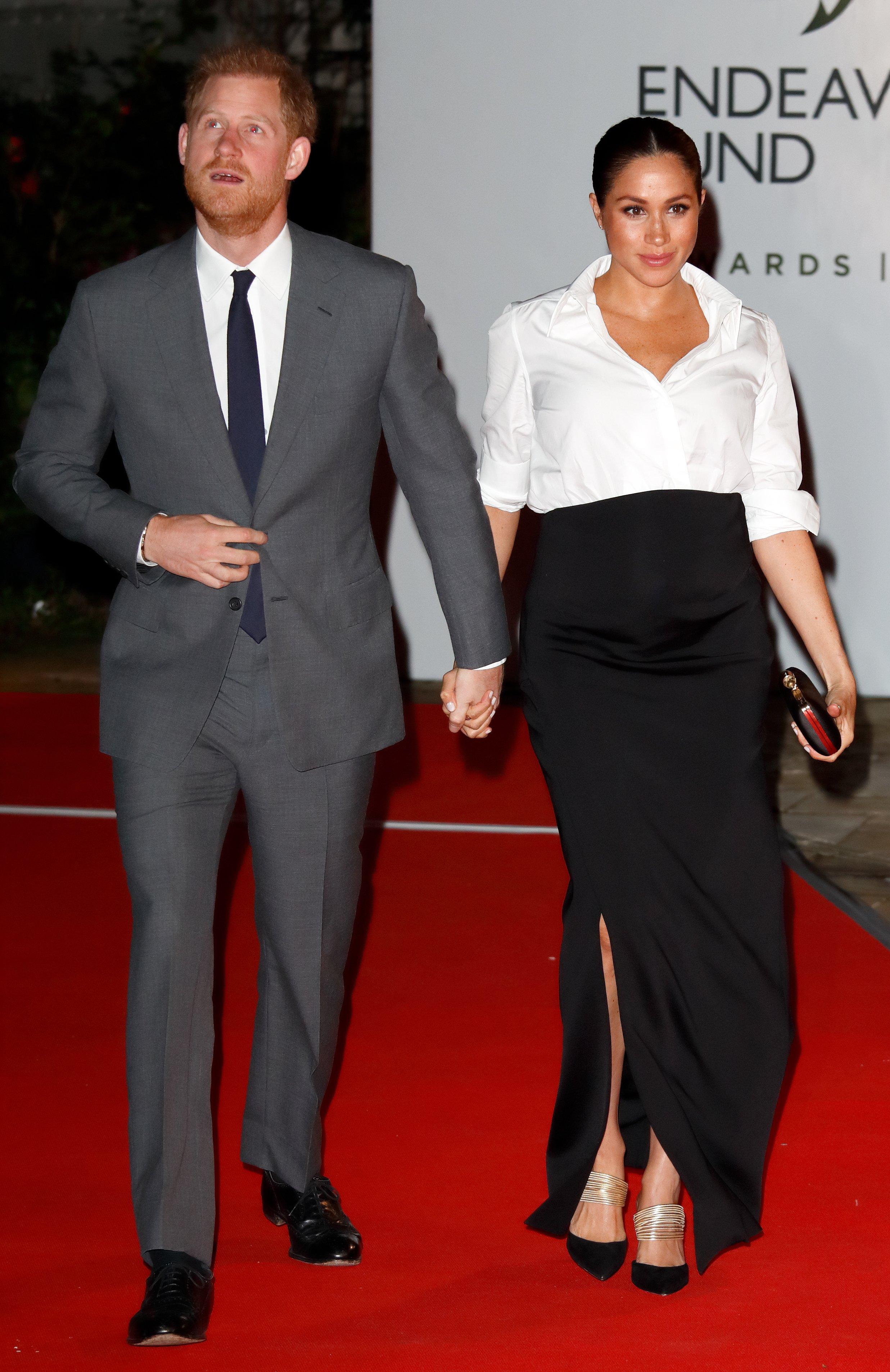 Herzogin Meghan Markle und Prinz Harry - Quelle: Getty Images