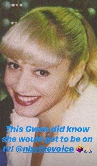 Gwen Stefani throwback. I Image: Instagram/gwenstefani