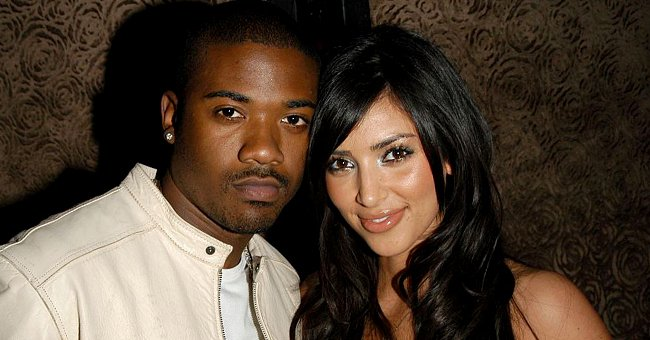 Ray J and Kim Kardashian attend Charlotte Ronson Fall/Winter 2006 Collection, March 2006   Source: Getty Images
