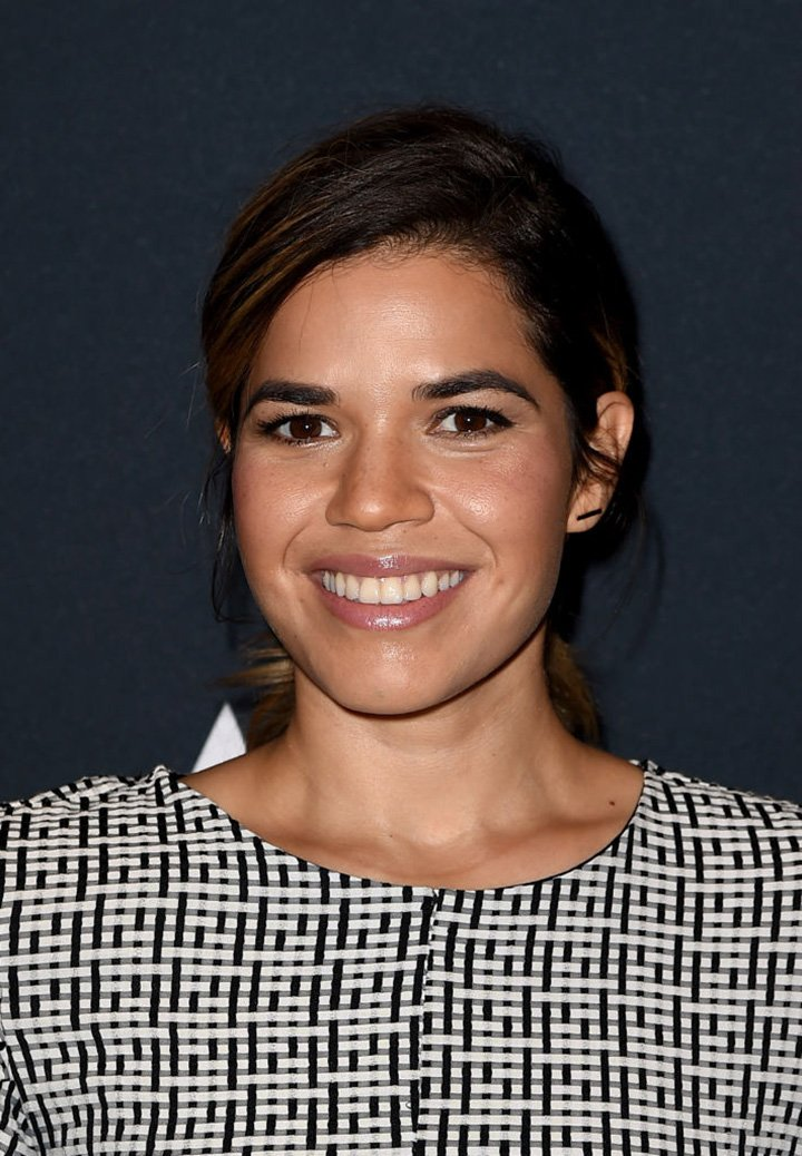 """America Ferrera arriving at The Academy Presents """"Real Women Have Curves"""" at the Academy of Motion Picture Arts and Sciences in Beverly Hills, California, in October 2017. I Image: Getty Images."""