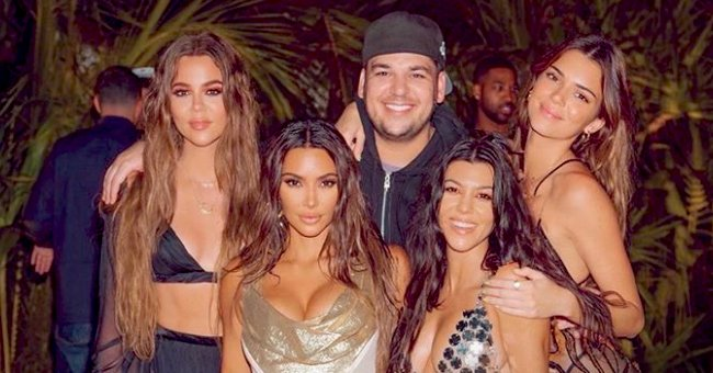 Khloé Kardashian Jokes about Photoshopping Absent Kylie Jenner into a Photo from Kim's Birthday