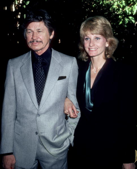 Charles Bronson & Jill Ireland at the 1st Annual Talent Awards Luncheon | Photo: Getty Images